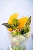 Asparagus salad Stock Photography
