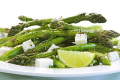 Asparagus Salad Royalty Free Stock Photo