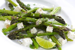 Asparagus Salad Stock Photos