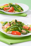 Asparagus salad Royalty Free Stock Photos