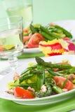 Asparagus salad Stock Photos