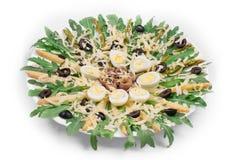Asparagus salad Royalty Free Stock Photo