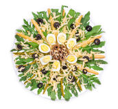 Asparagus salad Royalty Free Stock Image