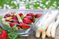 Asparagus salad Royalty Free Stock Photography