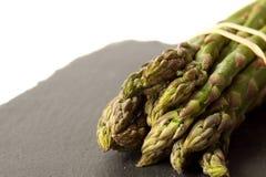 Asparagus slate  Royalty Free Stock Image