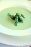 Asparagus soup stock photography
