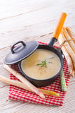 Asparagus Soup Stock Photography