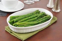 Asparagus spears Stock Photography