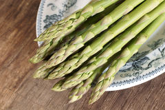 Asparagus spears Royalty Free Stock Images