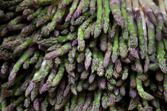 Asparagus stack Royalty Free Stock Photography