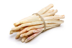 Asparagus with string Royalty Free Stock Photo