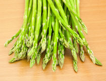 Asparagus on the table Royalty Free Stock Image