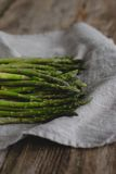 Asparagus on the table Royalty Free Stock Photo