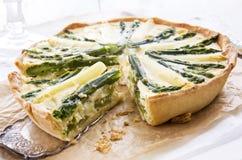 Asparagus Tarte Stock Photo