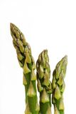 Asparagus tips. Close-up of asparagus royalty free stock photo