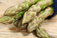 Asparagus tips Stock Images