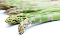 Asparagus tops Stock Photography