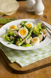 Asparagus and tuna salad Stock Photos