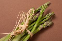 Asparagus. Typical seasonal vegetables, is consumed in spring and summer Royalty Free Stock Images