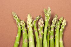 Asparagus. Typical seasonal vegetables, is consumed in spring and summer Stock Images