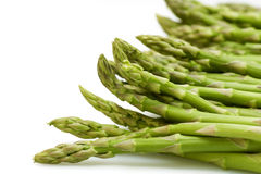 Asparagus on white Royalty Free Stock Photos