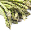 Asparagus on White  Background Royalty Free Stock Photography