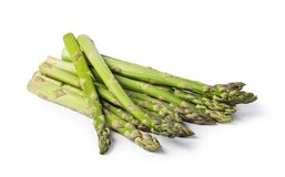 Asparagus. On a white background stock images