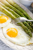 Asparagus With Eggs Stock Photo