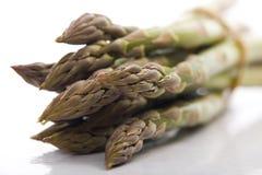 Asparagus z białym background.JH Obrazy Royalty Free