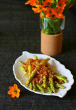 asparagus zieleń Zdjęcia Royalty Free