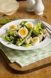 Asparagusa i tuńczyka sałatka Zdjęcia Stock