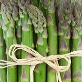 asparagusa up zamknięty Zdjęcia Royalty Free