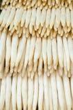 asparaguses λευκό Στοκ φωτογραφίες με δικαίωμα ελεύθερης χρήσης