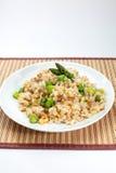 Asparagusy Smażący ryż Obrazy Royalty Free
