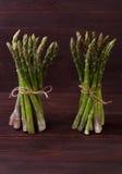Aspargo verde com vegetais Foto de Stock