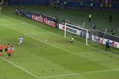 Aspas Celta de Vigo  pen forces extra time Stock Image
