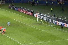 Aspas Celta de Vigo pióro zmusza czas dodatkowego Zdjęcie Stock