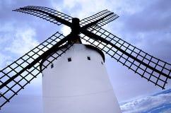 Aspas de molino en La Mancha Stock Photography