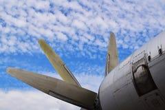 Aspas del ventilador de los aviones imágenes de archivo libres de regalías