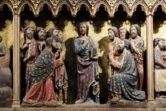 Aspect aux ap?tres et aux disciples en Galil?e images stock