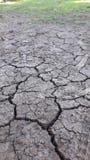 Aspect de sécheresse sur terre photo libre de droits