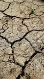 Aspect of drought on earth stock photography