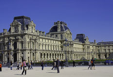 Aspect of the Louvre. An aspect of the Louvre museum and palace, Paris, France stock image