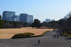 Aspecto del parque imperial Foto de archivo