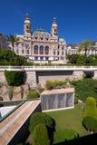 Aspecto trasero del casino de Monte Carlo Foto de archivo