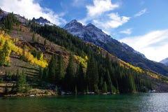 Aspen. Beautiful lake seen at Aspen Royalty Free Stock Photo