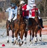 Aspen, Co - 18 décembre : joueurs inconnus d'équipe Ciroc Images libres de droits