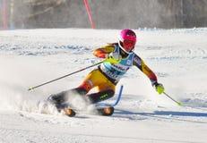 Aspen, CO - 27 de noviembre: Marie-Micaela Gagnon en Fotos de archivo libres de regalías
