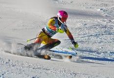 Aspen, CO - 27 de noviembre: Marie-Micaela Gagnon en el AUD Foto de archivo