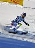Aspen, Co - 27 novembre : Maria Hoefl-Riesch chez l'Audi Photo libre de droits